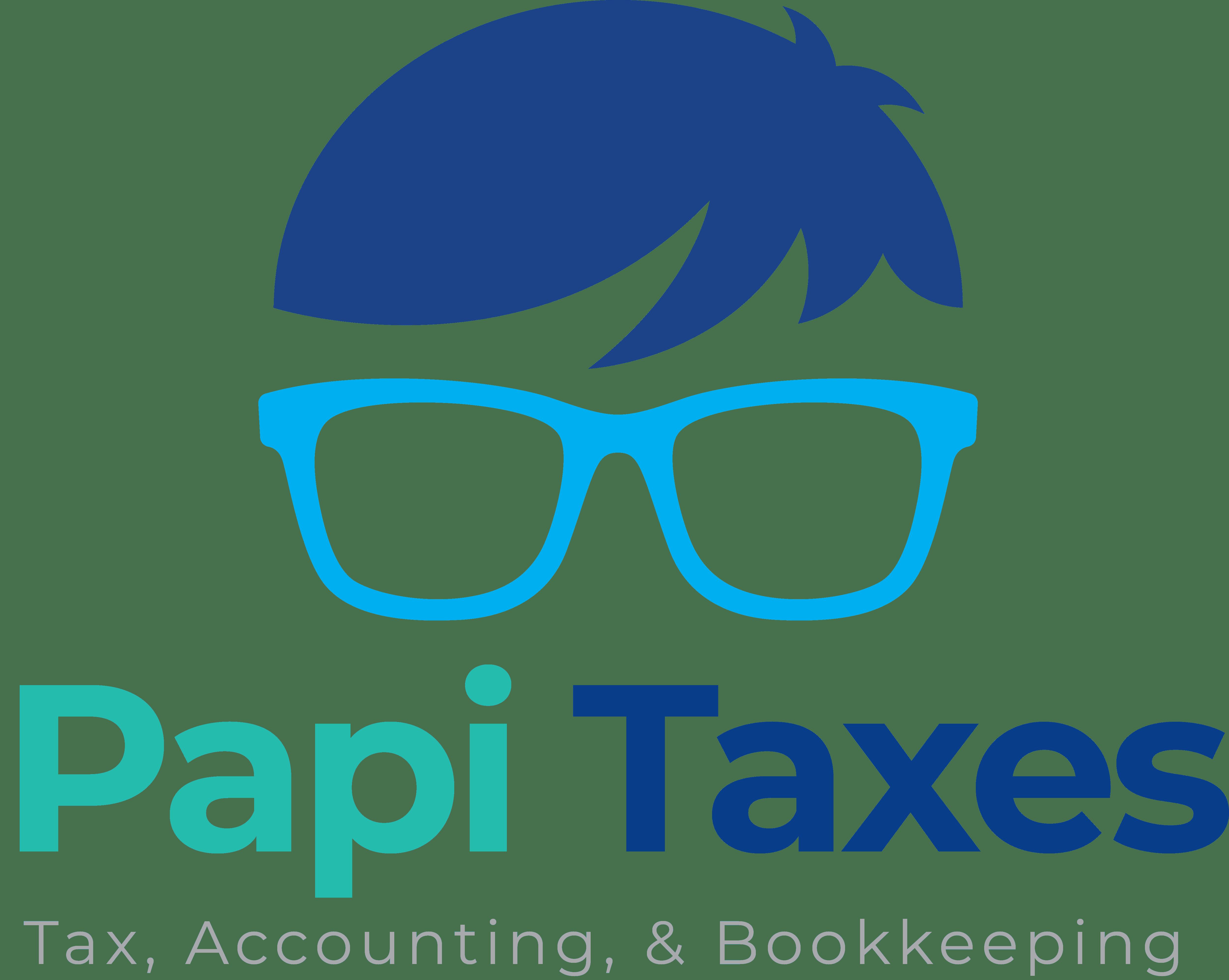 previous work - Papi Taxes Color Square Logo - Previous Work